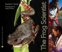 BOOK TALK:  THE FROG SCIENTIST by Pamela S. Turner