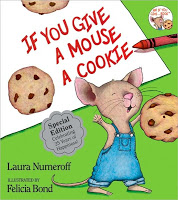 #PictureBookMonth Theme: Mice :|: Read If You Give a Mouse A Cookie by Laura Numeroff