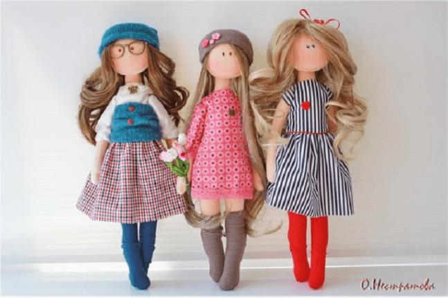 Интерьерная кукла своими руками выкройки фото 379