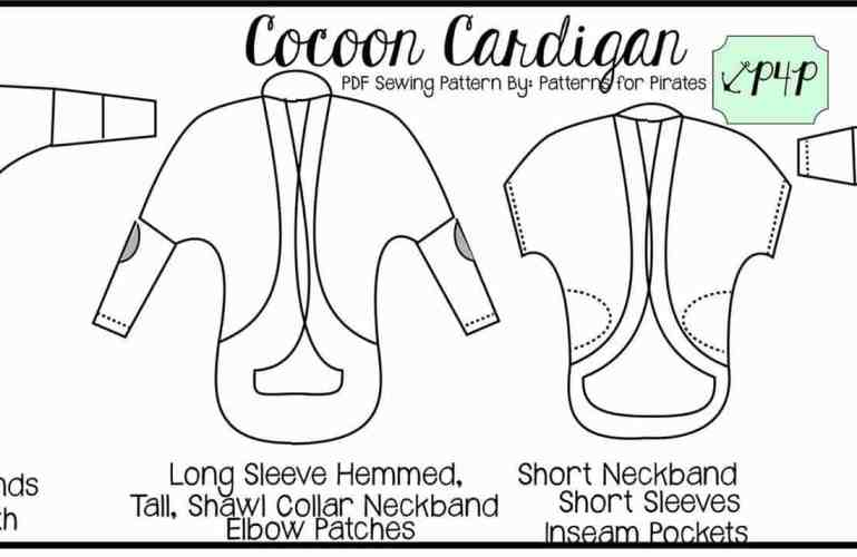 Cocoon Cardigan :: New Pattern Release!