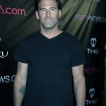 Relationship expert Steve Santagati arrives at Patti Stanger's Birthday Bash