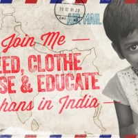 This Easter join me in caring for 350 Orphans in India