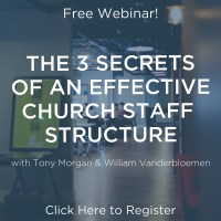 3 Secrets of an Effective Church Staffing Structure