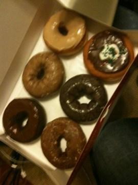 Dunkin Donuts Dinner