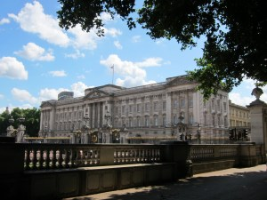Buckingham Palace (from Green Park)