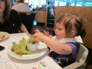 Emerson loves Guacamole!