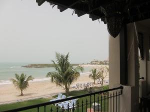 View from villa's balcony...