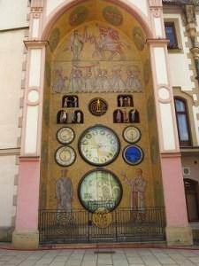 Olomouc's Socialist Realist astronomical clock