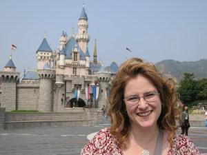 Libby @ Hong Kong Disneyland