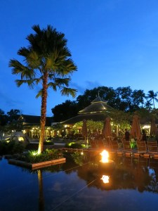 Evening at the Marriott Mai Khao Beach