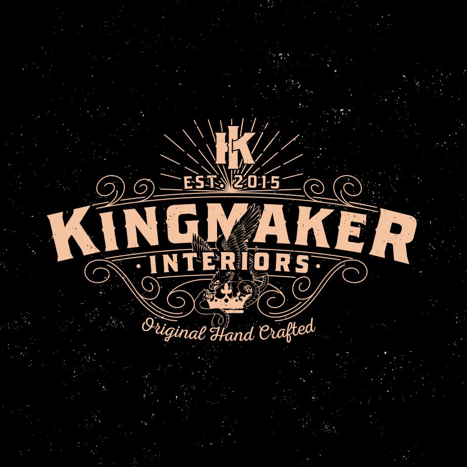 kingmaker interiors logo design 2 square