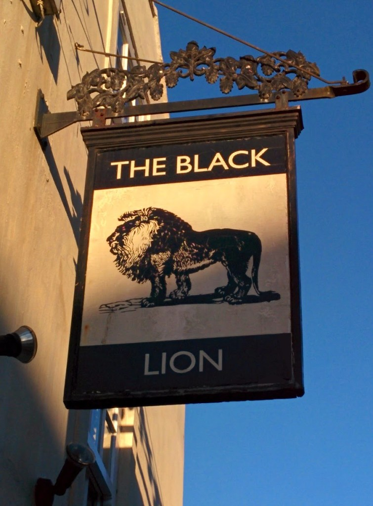 Pub Sign Bridlington - The Black Lion
