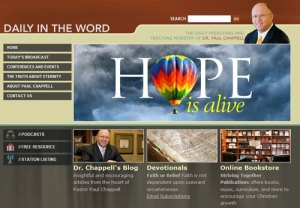 Daily in the Word home page