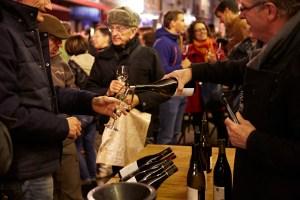 Paulée de la Côte chalonnaise soirée du vendredi rue de Strasbourg