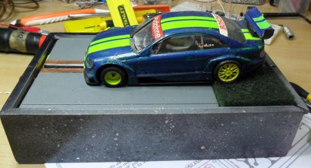 Mini pista de slot car