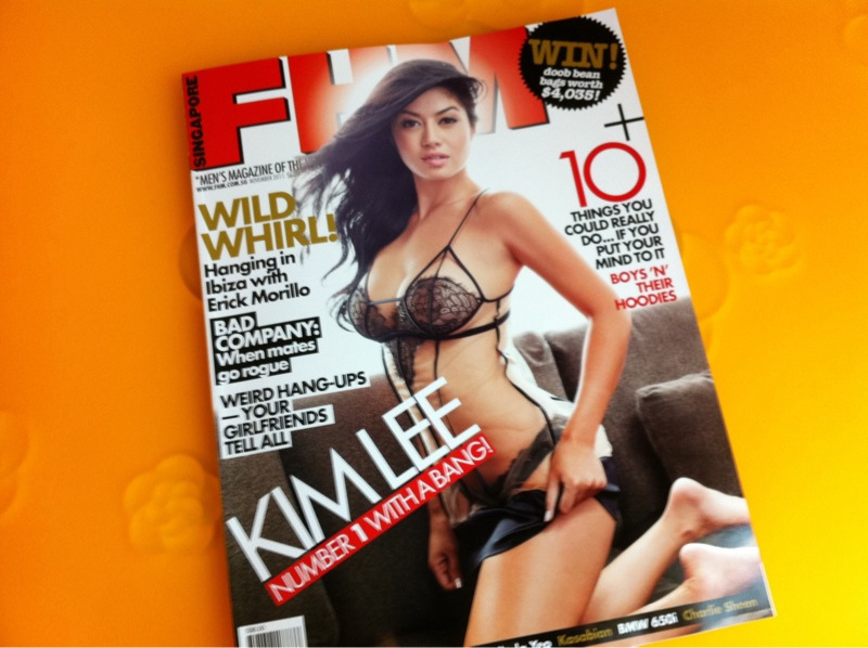 FHM Centerfold & Interview