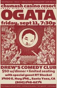Paul Ogata in Santa Ynez @ Drew's Comedy Club at Chumash Casino   California   United States