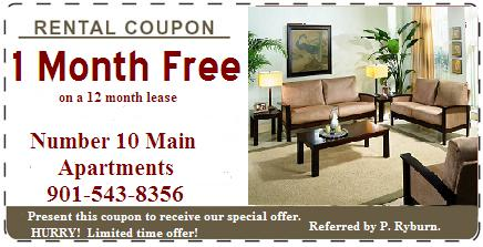 free rent at number 10 main one of the best apartment