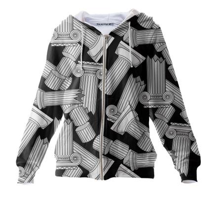 column hoodie
