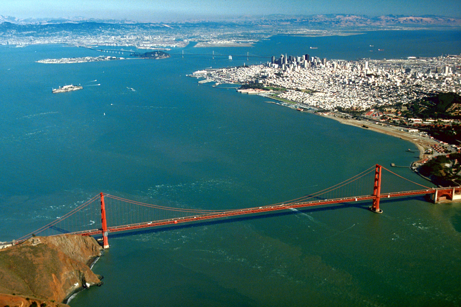 Aerial View of San Francisco Bay