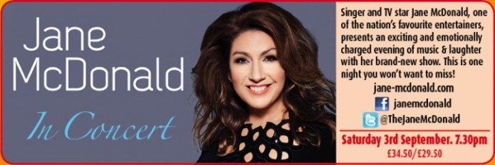 Jane McDonald - CLICK FOR MORE INFO!