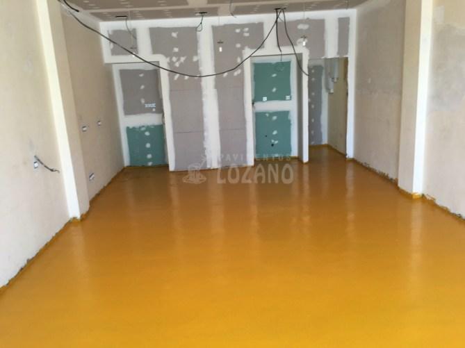 Mortero seco de resinas - Pavimentos-Lozano