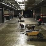 Mortero seco de resinas garaje - San Roque - Pavimentos-Lozano