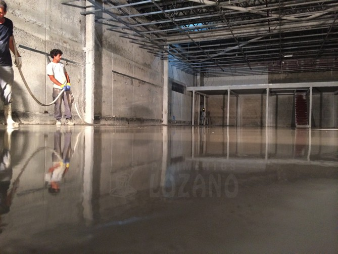 motero alta planeidad - Pavimentos Lozano