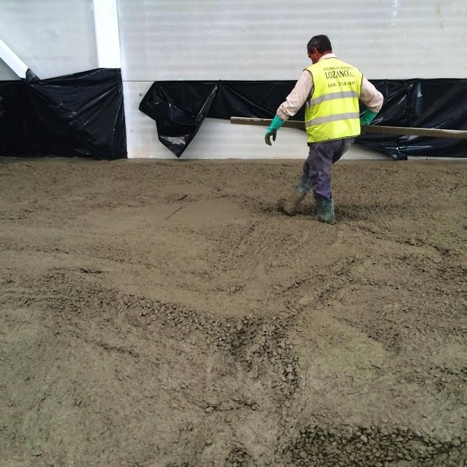 pavimento pulido fibras estructurales