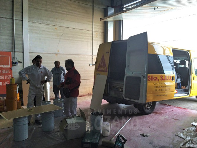 road shop sika pavimentos lozano