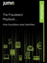 The Fraudsters Playbook Jumio White Paper Cover image