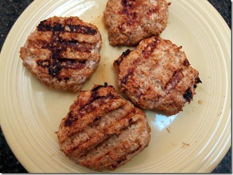 bbq chicken burgers 001