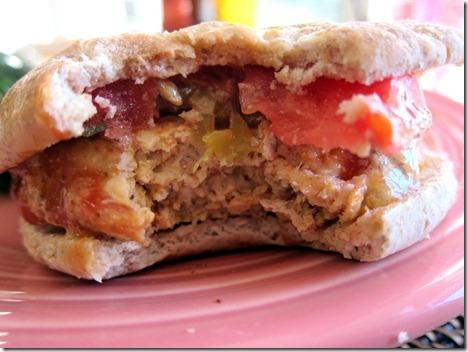 bbq chicken burgers 008