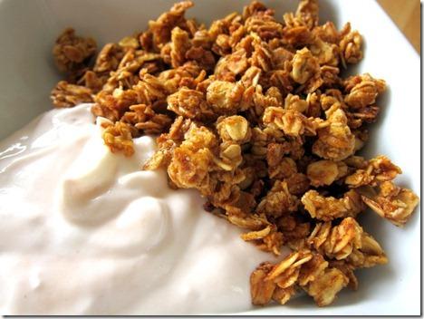 pumpkin spice granola 016
