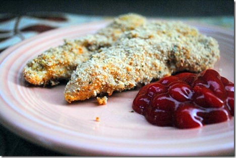 chicken fingers healthy baked