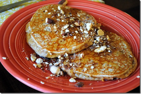 almond butter pancakes 006