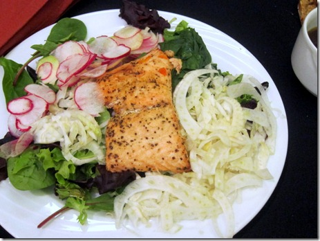 salmon salad fennel