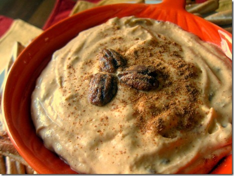 Pumpkin Cheesecake Dip - ONLY 5 Ingredients