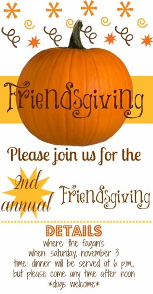 invitation friendsgiving