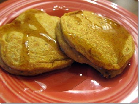 pumpkin pancakes 004