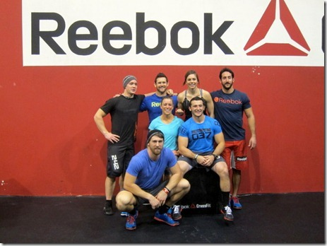 CrossFit athletes