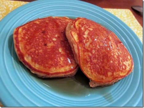 Sweet Potato Butter Pancakes