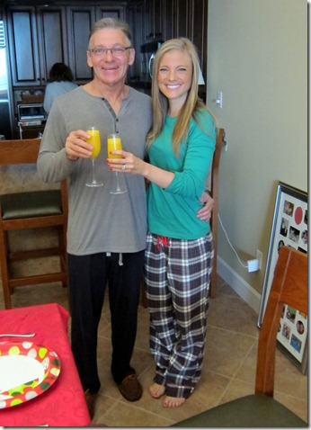 Christmas Morning Mimosas