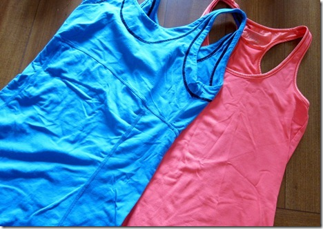 long workout tanks