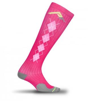 PRO Compression Pink Argyle