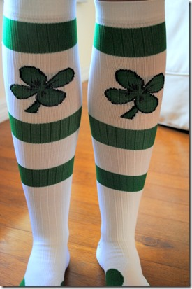 Pro Compression Shamrock Marathon Socks