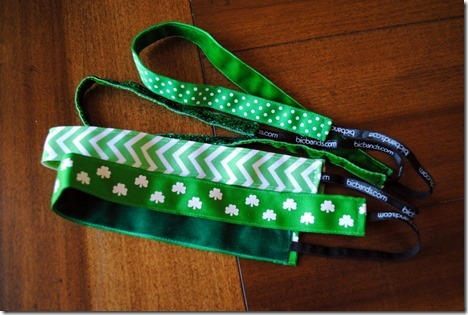 St. Patrick's Day Headbands