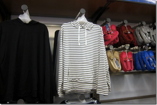 old navy striped sweatshirt