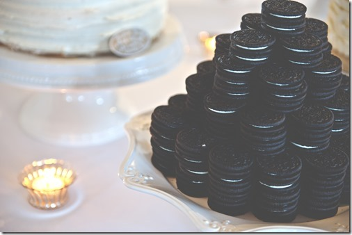 Oreo Cake Tower - Groom's Cake