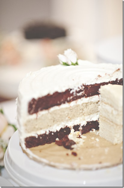 Red Velvet and Brown Butter Cake